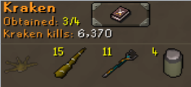 The plus side is he's given me well over 1.5mil Slayer xp